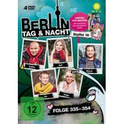 Film: Staffel 18,Folge 335-354 (Limited Edition)  von Berlin-Tag & Nacht mit Prashant Prabhakar