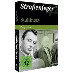 Film: Stahlnetz Folge 11-16 (Straßenfeger 42), 4 DVD  von Wolfgang Menge von Strassenfeger 42 mit Eddi Arent, Wolfgang Völz, Grit Boettcher, Hannelore Elsner, Heinz Engelmann