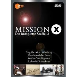 Film: Mission X - Staffel 3  von Hans Jakobi mit Axel Engstfeld, Michael Glawogger, Christian Twente