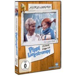 Film: Pippi Langstrumpf - TV-Serie - Vol. 2  von Astrid Lindgren  von Olle Hellbom mit Inger Nilsson, Pär Sundberg, Maria Persson, Hans Clarin , Margot Trooger, Beppe Wolgers