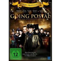 Film: Terry Pratchetts Going Postal, 2 DVD  von Terry Pratchett  von Jon Jones mit Richard Coyle, Charles Dance, Claire Foy, David Suchet, Terry Pratchett