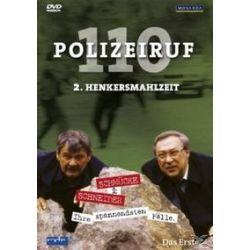 Film: Polizeiruf 110 - DVD 2 - Henkersmahlzeit  von Jaecki Schwarz, Wolfgang Winkler von Hartmut Griesmayr mit Jaecki Schwarz, Wolfgang Winkler