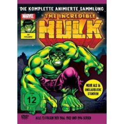 Film: The Incredible Hulk - Die komplette animierte Sammlung  von Ralph Bakshi von Marvel Cartoons