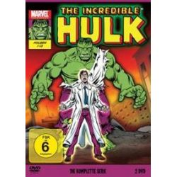 Film: The Incredible Hulk - Die komplette Serie von 1966 - Staffel 1  von Marvel Cartoons