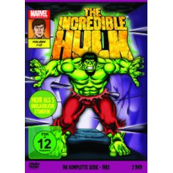 Film: The Incredible Hulk - Die komplette Serie von 1982  von Ernesto Lopez von Marvel Cartoons