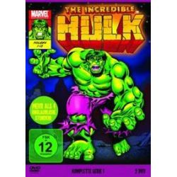 Film: The Incredible Hulk - Die komplette Serie von 1996  von Marvel Cartoons
