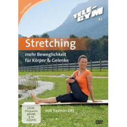 Film: Stretching Tele-Gym 41  von Yasmin Ott von Peter Mang von Mehr Beweglichkeit für Körper & Gelenke mit Yasmin Ott