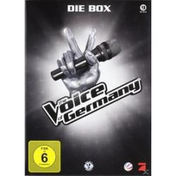 Film: The Voice of Germany - Die Box (8 DVD)  von The Voice Of Germany mit Rea Garvey, The Bosshoss, Nena, Xavier Naidoo