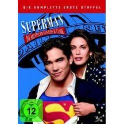 Film: Superman, Die Abenteuer von Lois & Clark, 6 DVDs. Staffel.1  mit Teri Hatcher, Dean Cain