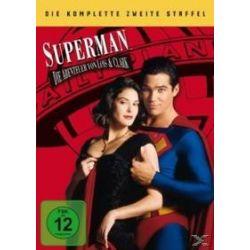 Film: Superman, Die Abenteuer von Lois & Clark, 6 DVDs. Staffel.2  mit Teri Hatcher, Dean Cain
