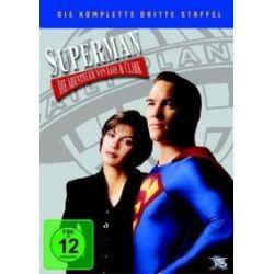Film: Superman, Die Abenteuer von Lois & Clark, 6 DVDs. Staffel.3  mit Teri Hatcher, Dean Cain