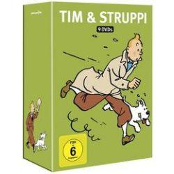 Film: Tim & Struppi TV-Serien & Spielfilm Box  von Georges R. Hergé von Stephane Bernasconi von Tim & Struppi TV-Serien & Spielfilm Box