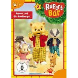 Film: Rupert Bär - DVD 2 - Rupert und die Sandburgen  von Barry J.C. Purves von Rupert Bär mit Trickfilm