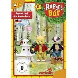 Film: Rupert Bär - DVD 5 - Rupert und das Bienenhaus  von Barry J.C. Purves von Rupert Bär 5