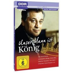 Film: Unser Mann ist König  von Hubert Hoelzke mit Horst Drinda, Annekathrin Bürger, Doris Otto-Franke