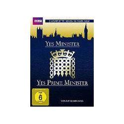 Film: Yes Minister  von Peter Whitmore, Sydney Lotterby mit Paul Eddington, Nathaniel Hawthorne, Derek Fowlds, Diana Hoddinott