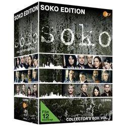 Film: ZDF SOKO Edition Vol.1 Collector`s Box  von Daniel Helfer mit Hartmut Schreier, Gerd Silberbauer, Bianca Hein, Michel Guillaume