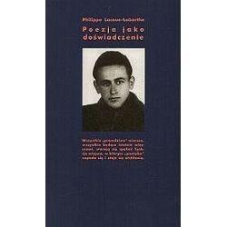 Poezja jako doświadczenie - Philippe Lacoue-Labarthe
