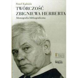Twórczośc Zbigniewa Herberta. Monografia bibliograficzna tom 1/2 - Paweł Kądziela