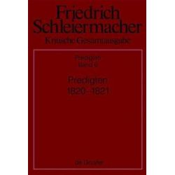 Bücher: Predigten 1820-1821