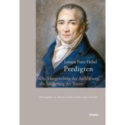 Bücher: Predigten  von Johann Peter Hebel