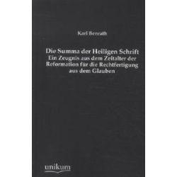 Bücher: Die Summa der Heiligen Schrift  von Karl Benrath