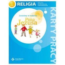 Religia. Jesteśmy w rodzinie Pana Jezusa - karty pracy, klasa 1, szkoła podstawowa - Danuta Jackowiak, Jan Szpet