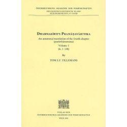 Dharmakirti's Pramanavarttika, An Annotated Translation of the Fourth Chapter (Parathanumana) Volume 1 (K. 1-148) by Tom J F Tillemans, 9783700128854.
