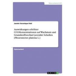 Bücher: Auswirkungen erhöhter CO2-Konzentrationen auf Wachstum und Grundstoffwechsel juveniler Schollen (Pleuronectes platessa L.)  von Jasmin Veronique Pahl