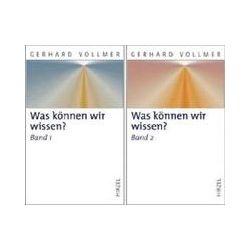 Bücher: Was können wir wissen?  von Gerhard Vollmer