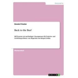 Bücher: Back to the Bus?  von Dennis Priester