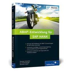 Bücher: ABAP-Entwicklung für SAP HANA  von Hermann Gahm, Eric Westenberger, Thorsten Schneider