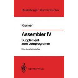Bücher: Assembler IV  von Hasso Kramer