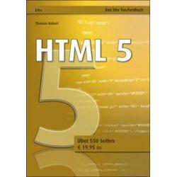 Bücher: Html 5  von Thomas Kobert