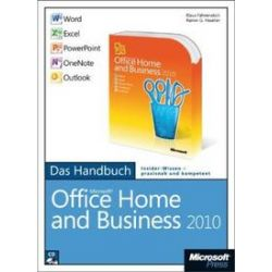 Bücher: Microsoft Office Home and Business 2010 - Das Handbuch: Word, Excel, PowerPoint, Outlook, OneNote  von Rainer G. Haselier, Klaus Fahnenstich