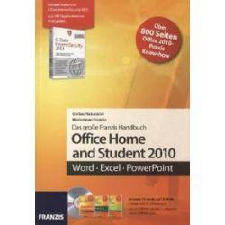 Bücher: Das Franzis Handbuch für Office Home and Student 2010  von Wedemeyer, Nakanishi, Hoeren, Giessen