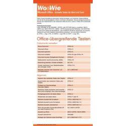 Bücher: Wo & Wie: Microsoft-Office - Schnelle Tasten für Word und Excel  von Anja Schmid, Inge Baumeister