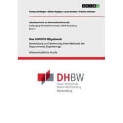 Bücher: Das SOPHIST-REgelwerk  von Frank Lehmann, Laura Kolenc, Oliver Kappes, Georg Geltinger