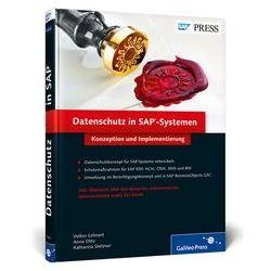 Bücher: Datenschutz in SAP-Systemen  von Katharina Stelzner, Anna Otto, Volker Lehnert