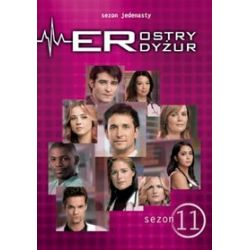 Ostry dyżur, Sezon 11 (6 DVD) (DVD) - Michael Crichton