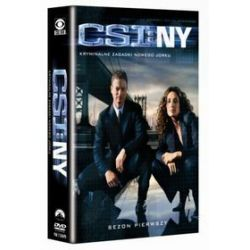 CSI Kryminalne zagadki Nowego Jorku - sezon 1 (DVD)