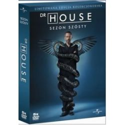 Dr House - sezon 6 (limitowana edycja kolekcjonerska) (DVD) - David Shore