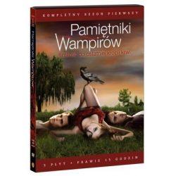 Pamiętniki wampirów, Sezon 1 (5 DVD) (DVD) - R. Bota, K. Bray, J. Dahl