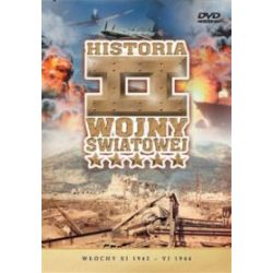Historia II Wojny Światowej - Włochy XI 1942 - VI 1944 (DVD)