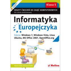 Informatyka. Informatyka Europejczyka - ćwiczenia, klasa 5, szkoła podstawowa - Danuta Kiałka, Katarzyna Kiałka