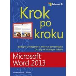 Microsoft Word 2013 Krok po kroku - Joyce Cox, Joan Lambert