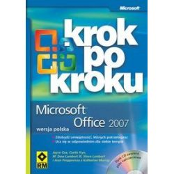 Microsoft Office 2007 - krok po kroku + CD