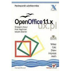 OpenOffice 1.1.x UX.PL + CD-ROM - Grzegorz Kocur, Piotr Majchrzak, Leszek Zdonek