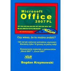 Microsoft Office 2007 PL rozszerzony samouczek dla nieinformatyków - Bogdan Krzymowski