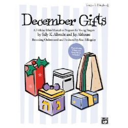 December Gifts, Teacher's Handbook by Jay Althouse, 9780739031186.